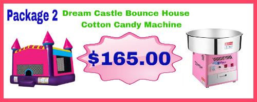 Drean Castle + Cotton Candy Machine